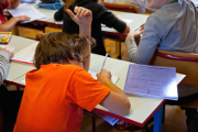 How much does grade repetition in French primary and secondary schools cost?