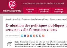 Évaluation des politiques publiques : découvrez cette nouvelle formation courte