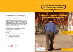18 mai – Journée d'étude Ined/IPP : Défis socioéconomiques de la perte d'autonomie